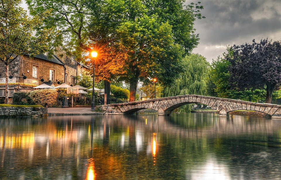 Bourton-on-the-water regularly voted one of the prettiest villages in England